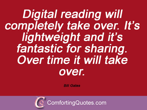 wpid quote bill gates digital reading will completely