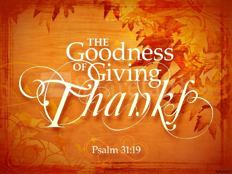 4 Reasons Why You Must Give Thanks No Matter What
