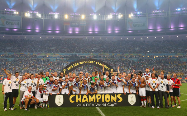 [PHOTOS] 2014 FIFA World Cup: Germany is World Champions. Here Are 20 Bold Pictures From The Game
