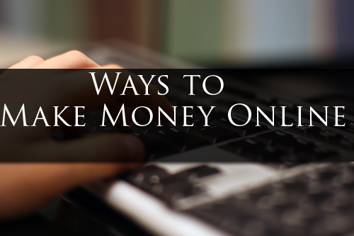 How to Make Money Online Without A Capital